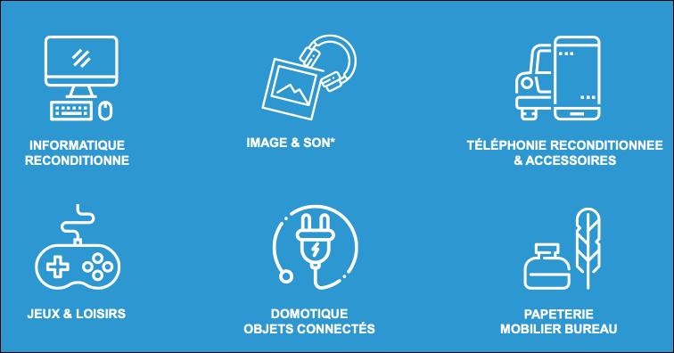 LDLC marketplace categories