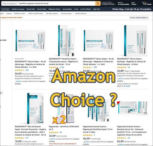 Amazon choice a changé